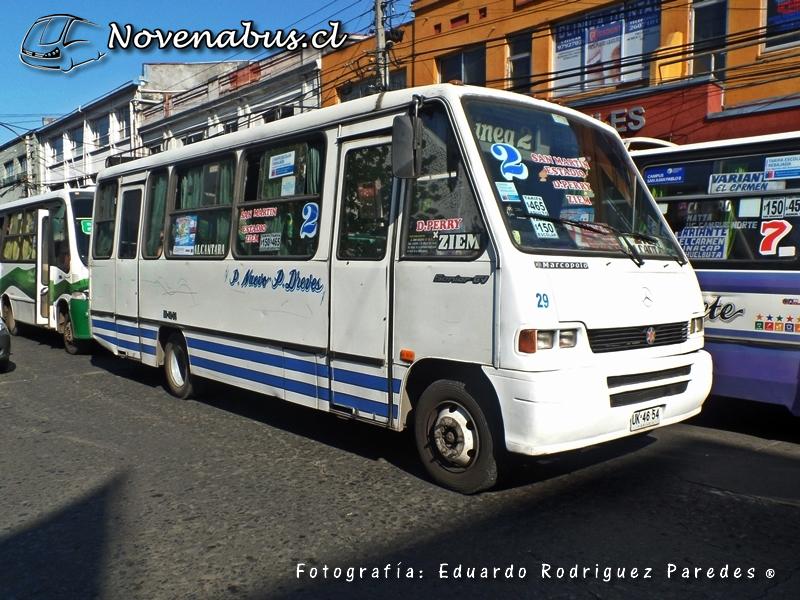 Resultado de imagen para Línea 2A Temuco