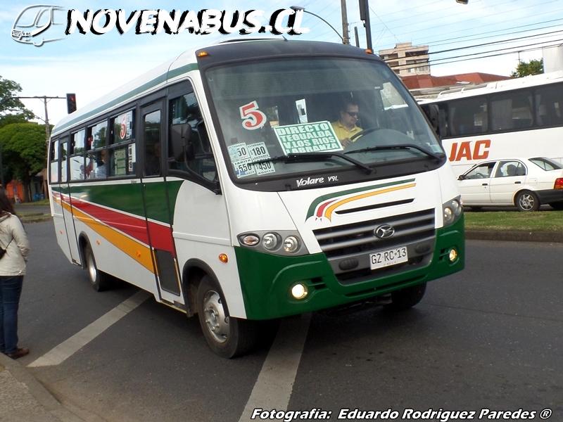 Resultado de imagen para Línea 5A Temuco