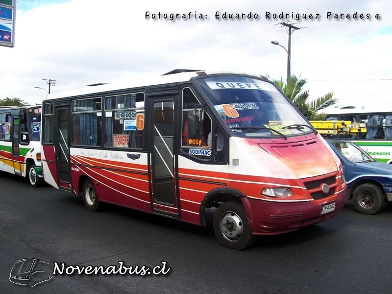 Resultado de imagen para Línea 6A Temuco