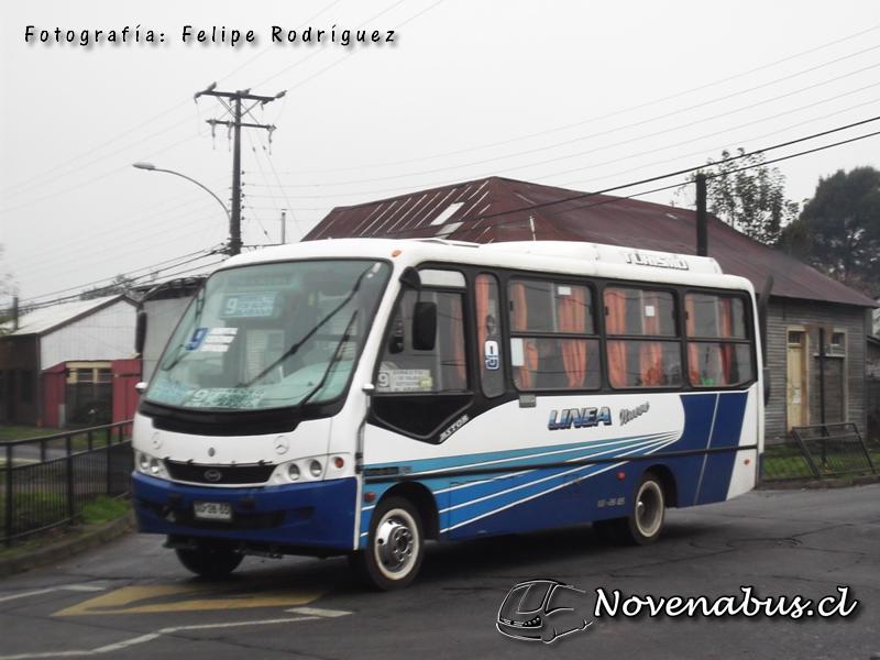 Resultado de imagen para Línea 9B Temuco