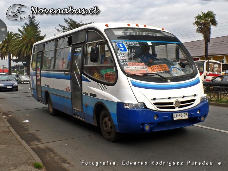 Resultado de imagen para Línea 9A Temuco